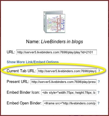 Current Tab URL
