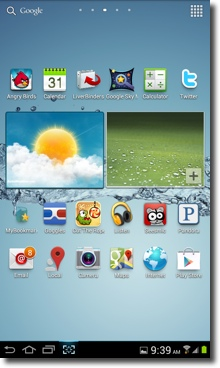 LiveBinder icon on the Adroid