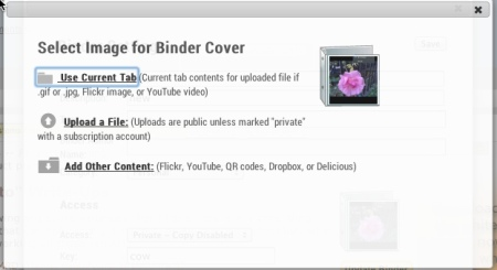 Selecting a Binder Cover