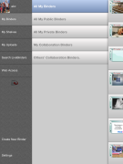 LiveBinders iPad App V1.4