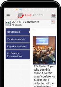 LiveBinders Quick App
