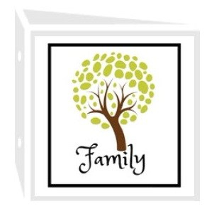 Family binder icon