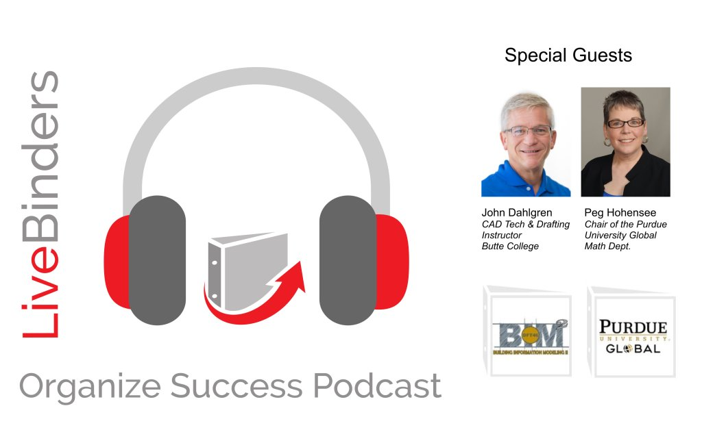 Image of LiveBinders Success Podcast with John Dahlgren and Peggy Hohensee