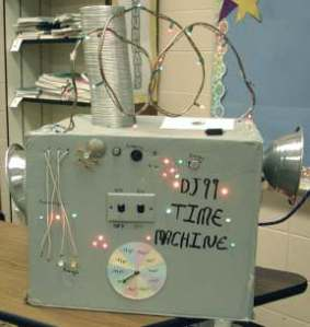 Student created Time Machine in 2001